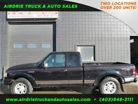 2011 Ford Ranger Sport 5spd Manual 4X4 Super Cab