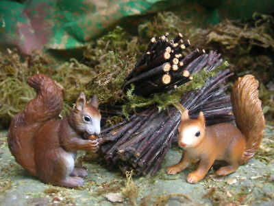 Retired  Squirrel Figurines for 5.5