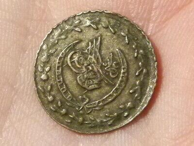 1223 1837 Turkish Ottoman  Arabic Coin #P12