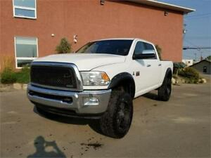 2011 Ram 3500 Laramie 6.7L Crew Cab Lifted Navi+Sunroof+Rear DVD