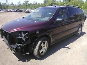 parting out 2007 chevrolet uplander