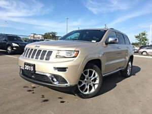 2015 Jeep Grand Cherokee Summit, No Accidents, Fully Loaded!