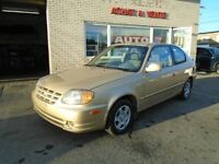 HYUNDAY ACCENT GS 2005 **107000 KM CERTIFIE**