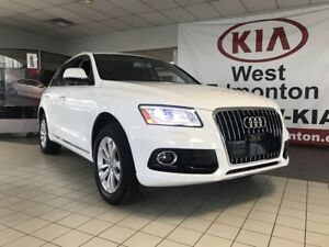 2017 Audi Q5 Progressiv AWD 2.0L TURBO *ROOF/HEATED LEATHER SEA