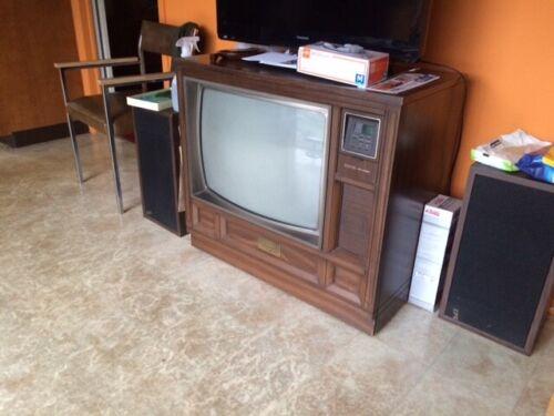 Vintage Zenith Television Set