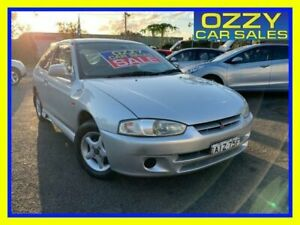 2000 Mitsubishi Mirage CE Silver 4 Speed Automatic Hatchback Minto Campbelltown Area Preview
