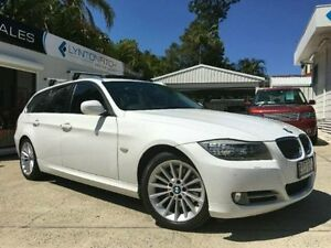 2010 BMW 320D E91 MY10.5 LIFESTYLE TOURING ST White Semi Auto Wagon Southport Gold Coast City Preview