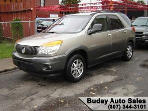 2002 BUICK RENDEZVOUS CX.  3rd ROW SEATING.