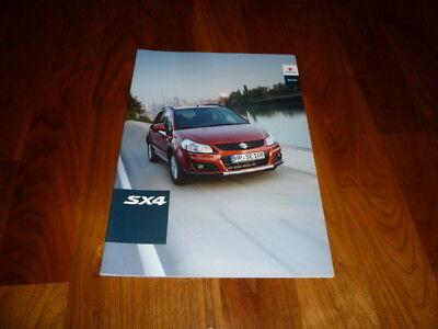 Suzuki SX4 Prospekt 09/2009