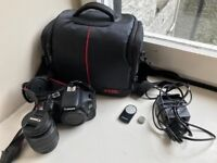 REDUCED PRICE - Like New DSLR Cannon 600D