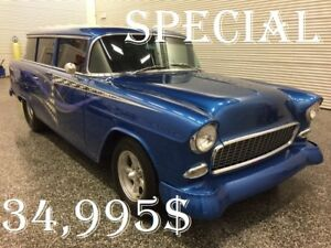 1955 Belair Nomad Modifié  rabais de 5 000$ !!!