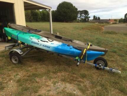 Kayak Trailer and Kayak Package Moruya Eurobodalla Area Preview
