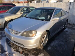 2001 Honda Civic Si
