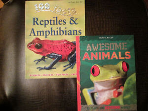 *Like New* Awesome Animals & 100 Facts Reptiles and Amphibians