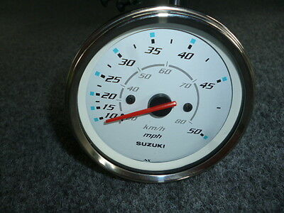 SUZUKI MARINE GENUINE PARTS 34100-93J31 SPEEDOMETER GAUGE