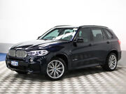 2014 BMW X5 F15 MY14 xDrive 40D Black 8 Speed Automatic Wagon Jandakot Cockburn Area Preview