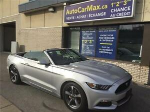 2016 Ford Mustang V6 Convertible-Cam de Recul-CONDITION SHOWROOM