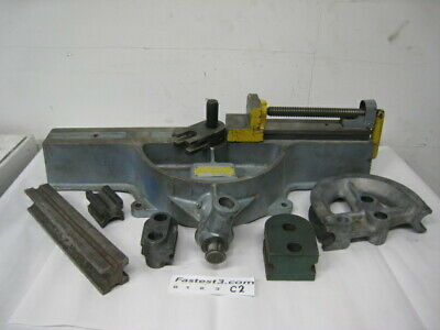 Parker Model 624 Manual Crank Tubing Bender Parker W Dies