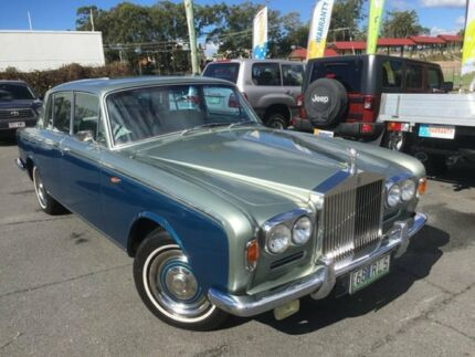 1968 Rolls-Royce Silver Shadow Silver Blue 4 Speed Automatic Saloon Southport Gold Coast City Preview