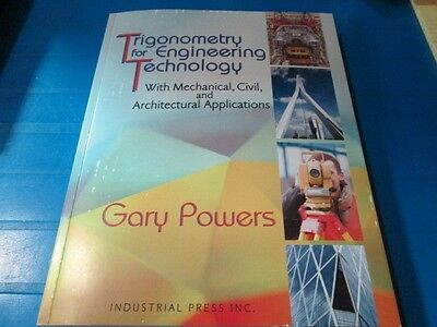 TRIGONOMETRY FOR ENGINEERING TECHNOLOGY PAPERBACK BY GARY POWERS