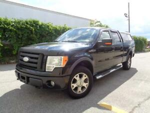 2009 Ford F-150 FX4--4X4--LEATHER--LOADED--CLEAN CARPROOF--