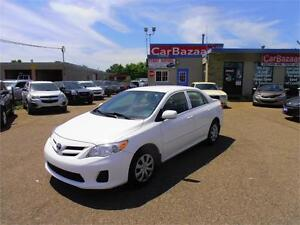 2013 TOYOTA COROLLA CE AUTO AIR PWR EVERYTHING EASY CAR FINANCE
