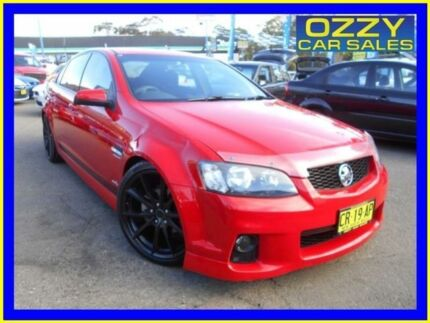 2010 Holden Commodore VE II SV6 Red 6 Speed Automatic Sedan Penrith Penrith Area Preview