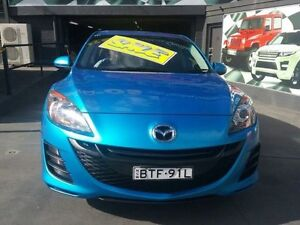 2010 Mazda 3 BL Neo Blue 5 Speed Automatic Hatchback Greenacre Bankstown Area Preview