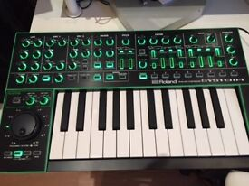 Roland System 1/SH101 - synthesiser keyboard - two synths in one - excellent condition £270