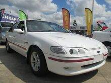 1996 Ford Falcon EL XR6 White 4 Speed Automatic Sedan Greenslopes Brisbane South West Preview