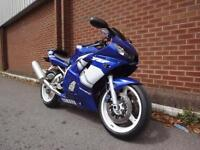 1999 YAMAHA R6 ONLY 26,000 MILES PRIVATE REG R6 KAO