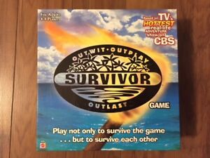 Survivor board game