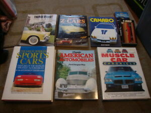 Collector Classic Car Books -Mustang, Ford, Chrysler