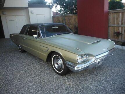 1965 Ford Thunderbird LANDAU Gold 3 Speed Automatic Coupe