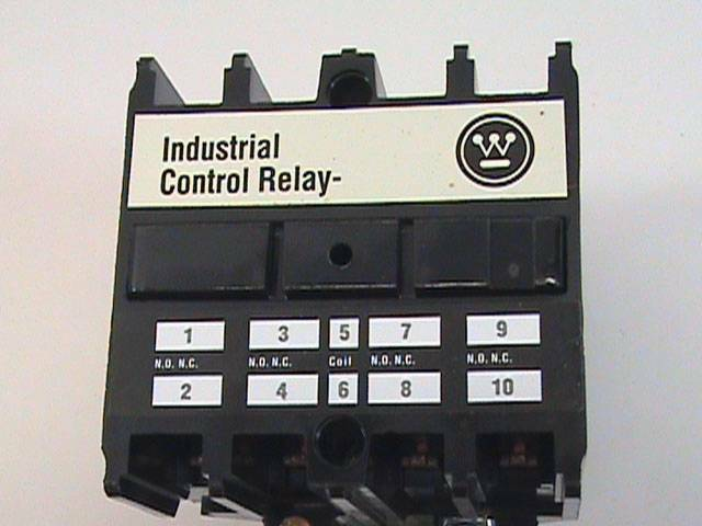 Westinghouse Type ARD4S 4 Pole Control Relay Style 765A651G01 600 DC NOS NIB