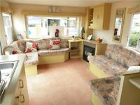 CHEAP STATIC CARAVAN FOR SALE ON NORTHUMBERLAND COASTLINE - NO SITE FEES TO PAY TILL 2018