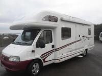 SWIFT KON-TIKI 665 ONE OWNER FROM NEW 6 BERTH, FIXED REAR BED MOTORHOME FOR SALE