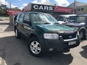 2003 Ford Escape BA XLT Green 4 Speed Automatic Wagon Edgeworth Lake Macquarie Area Preview