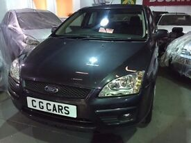 2008 Ford Focus 1.6 Style. 5dr Full MOT. Low Mileage Car 56k