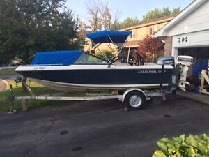 Chaparral bowrider with 175 hp Yamaha and wakeboard /  ski tower