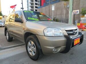 2001 Mazda Tribute Classic Gold 4 Speed Automatic 4x4 Wagon Southport Gold Coast City Preview