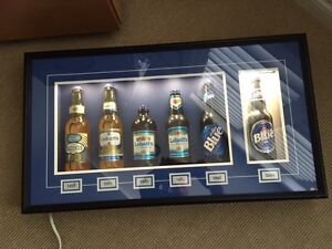 Labatt Blue Collectible/Historic Bottle Display
