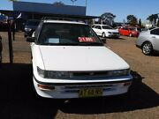 1993 Toyota Corolla AE92 SE White 3 Speed Automatic Hatchback Colyton Penrith Area Preview