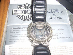 Harley Boliva watch Motorcycle Collectibles Clothing and MORE