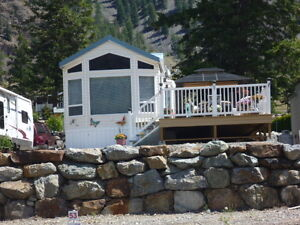 Riverside RV. park and Security park model in Keremeos Valley BC