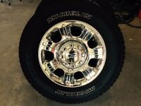 Brand New Tires and Rims from 2015 Ford 350