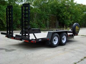 Canadian Made - Bobcat HD Low-Bed Float Trailers Kitchener / Waterloo Kitchener Area image 4