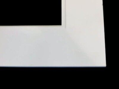 16x20 Double Acid-Free White Mat-Any Size Opening-Any Color Combination