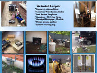 Fireplace ,Furnaces,Air Conditioner, Water Heaters - Tankless,