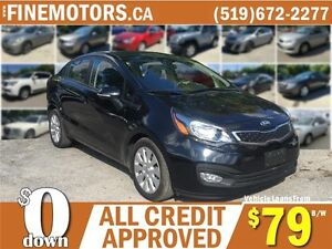 2014 KIA RIO EX GDI UVO * SIRI RADIO * HEATED SEATS * LOW KM